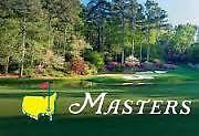 (4) 2017 Masters Tickets Practice Round TUESDAY