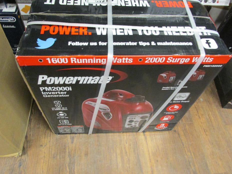 powermate 2000i portable inverter generator manual