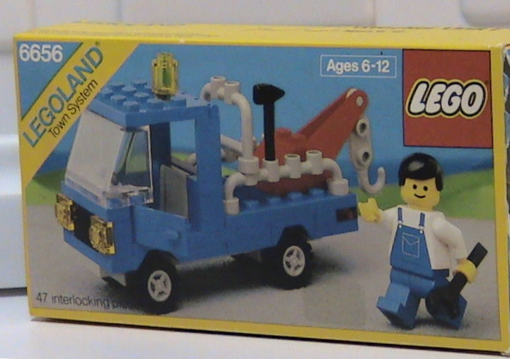 NEW Lego Classic Town 6656 Tow Truck LEGOLAND Traffic Sealed