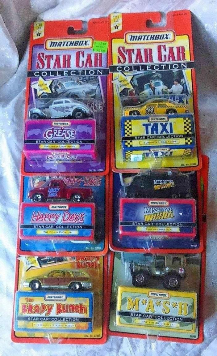Matchbox Star Cars Collections Series 1 6 o 6 #32881 1:64 Scale