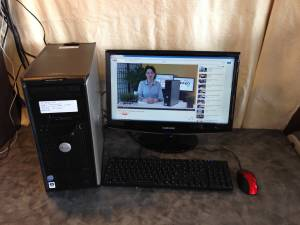Dell Desktop Computer Optiplex 755 -- with keyboard/monitor/mouse (indy east)