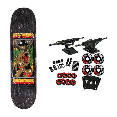 BIRDHOUSE Skateboard Complete WALKER FIRESTARTER 8.25