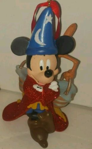 Disney Exclusive Mickey Mouse Sorcerer Fantasia  Ornament