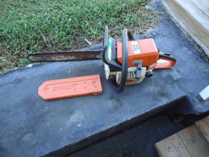 Stihl 025 & Stihl MS210 Chainsaws/Reduced (Mosheim/Midway)