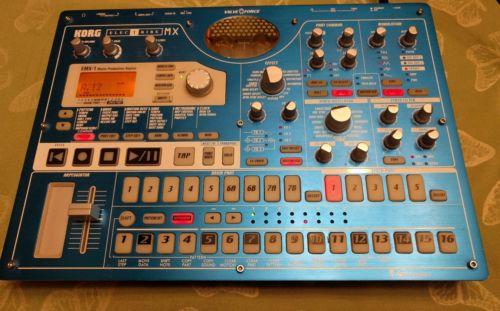 Used Korg EMX-1 Electribe MX Groovebox Production Station With Original Box