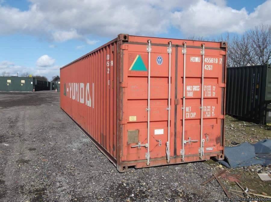 Sale Storage container 40'