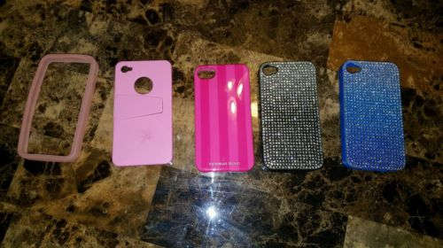 Lot of 5 Iphone 4 Phone Cases
