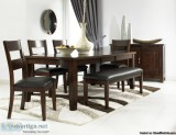 Pc Dining Set with Bench