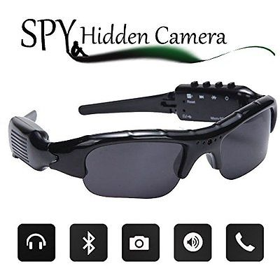 Wayli 720P Hidden Camera Sunglasses Video Recorder HD Camera Glasses With Bluet