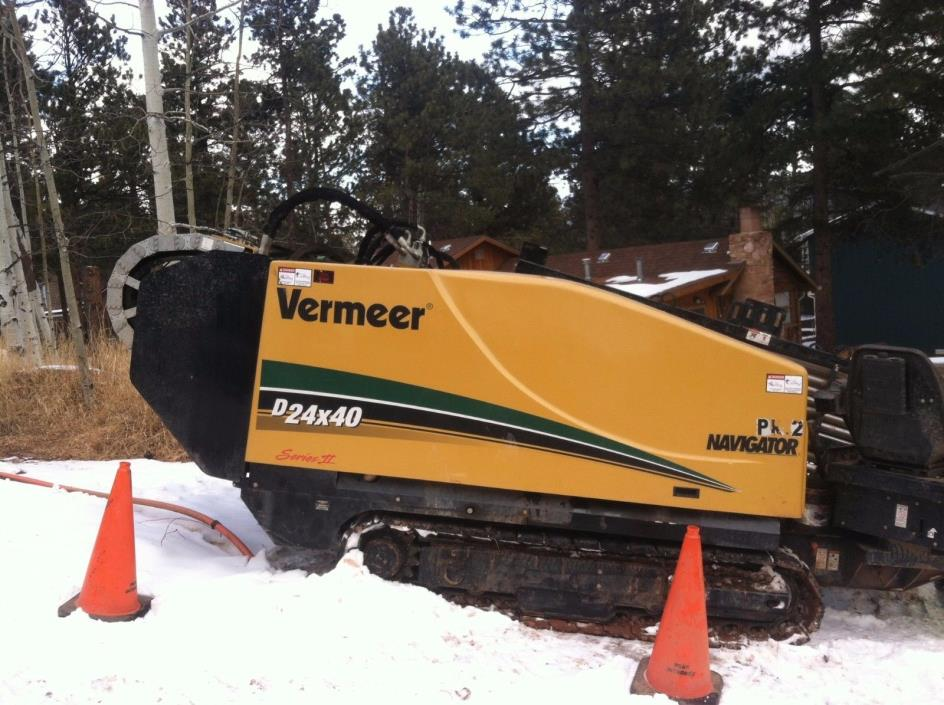Vermeer 2015 D24x40 Directional Drill