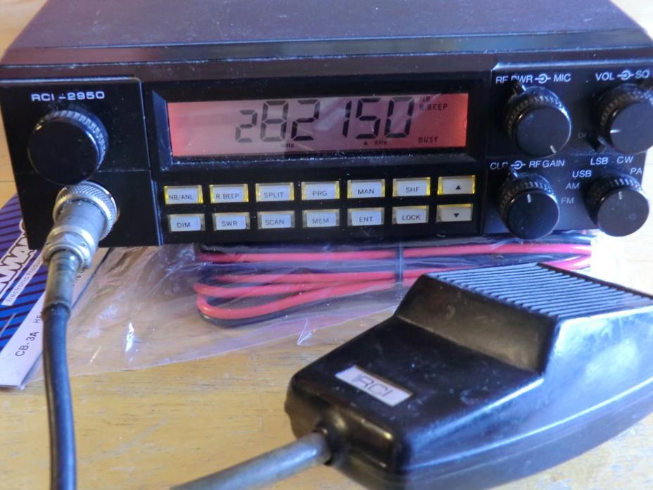 RANGER RCI 2950 10 METER RADIO TECH SPECIAL LOOK