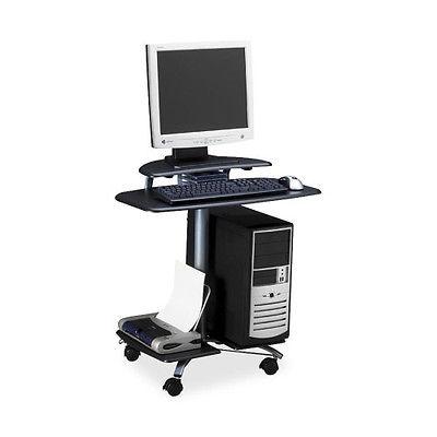 Computer Rolling AV Cart Anthracite Versatile NEW