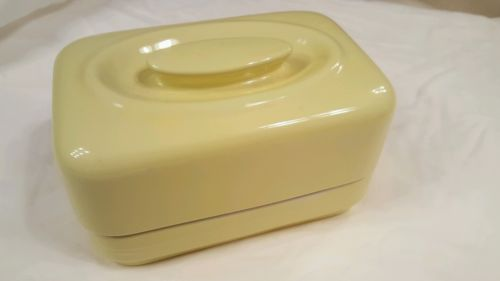 Vintage Hall Yellow Refrigerator Dish Westinghouse