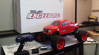 1/8 4wd brushless monster truck(exceed madbeast super 7) UPGRADED