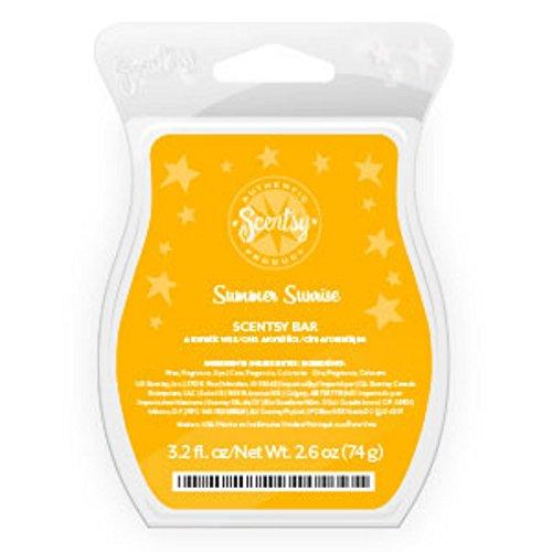 Scentsy, Summer Sunrise, Wickless Candle Tart Warmer Wax 3.2 Fl Oz