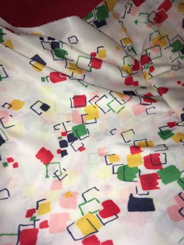 1950's Fabric Polyester 8 Yards Uncut