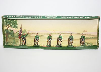 Vinitage SAE Swedish African Engineers Toy Soldier Lot Set Scottish Scots Guard