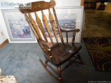 Rocking Chair by Nichols and Stone CO.