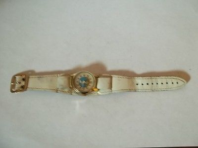 Vintage Childs Cinderella Wrist Watch by Bradley working