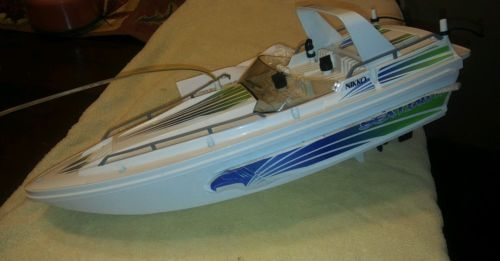 Nikko Sea Hawk rc Boat  LOOK