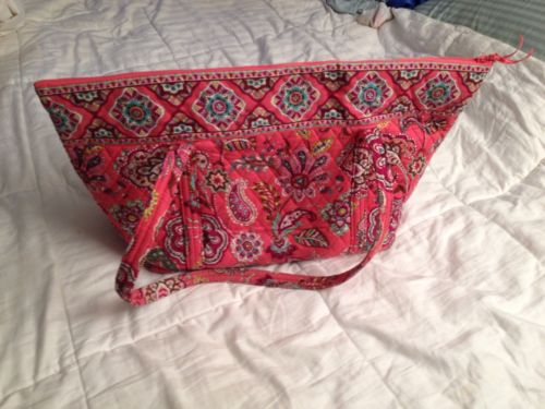 Vera Bradley Get Carried Away Tote in Call Me Coral