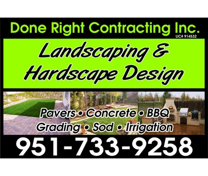 Landscaping Pavers Concrete Water wise Design Install