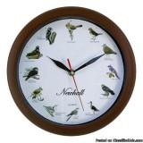 NewhallSinging Bird Wall Clock