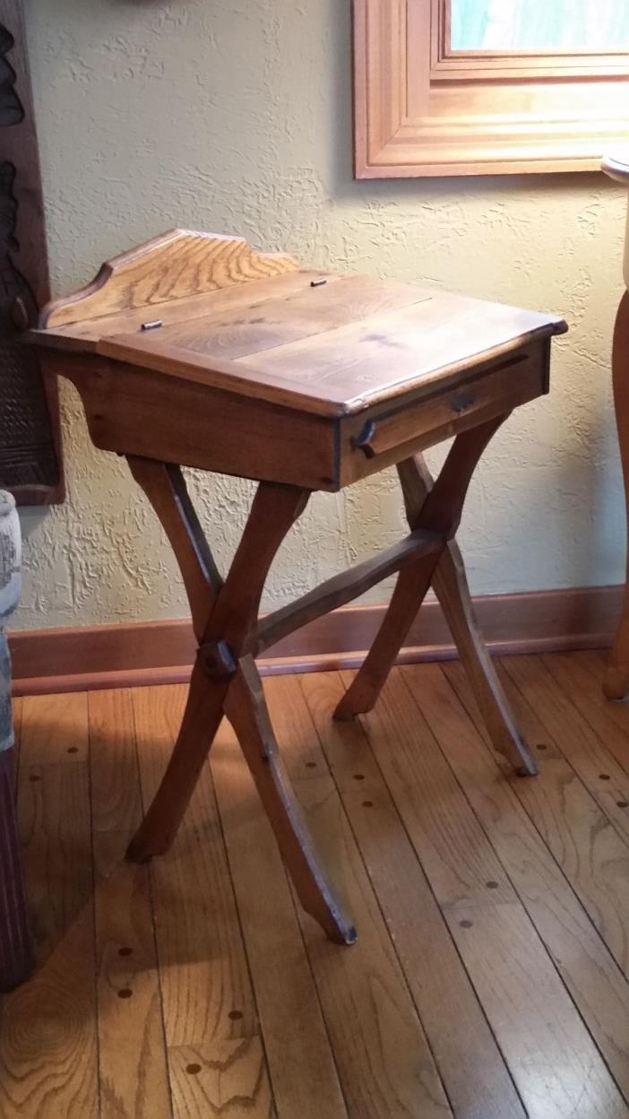 antique childs school desk for sale classifieds. Black Bedroom Furniture Sets. Home Design Ideas