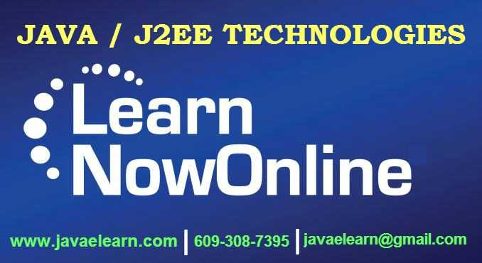 Get Free Demo On Java/J2EE Online Training With 100% Placements