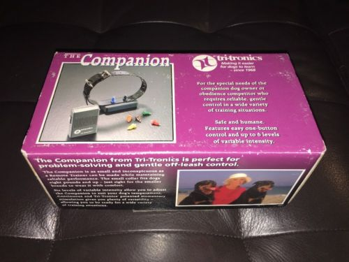 Tri-Tronics Companion Remote Dog Trainer Collar