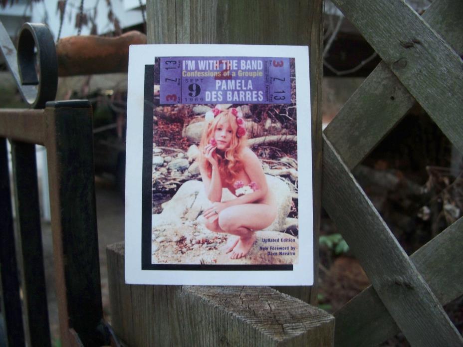 Pamela Des Barres Autograph Promo Card I'm With The Band Book Soup