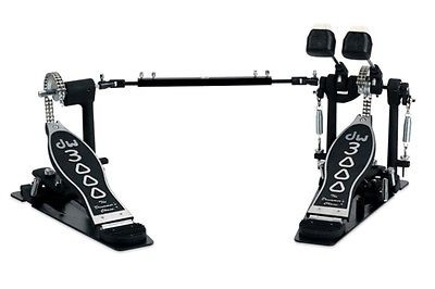 DW Drum Workshop 3000 Series Pedals 3002 bass drum double pedal DWCP3002 NEW