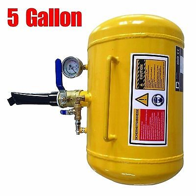 A+A++ 5 Gallon Air yellow Seater Tire Tool Blaster Wheel Tool 145Psi US SELLER
