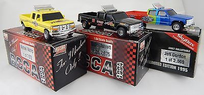 Lot of (3) 1:64 Action RCCA Chevy Dually Trucks