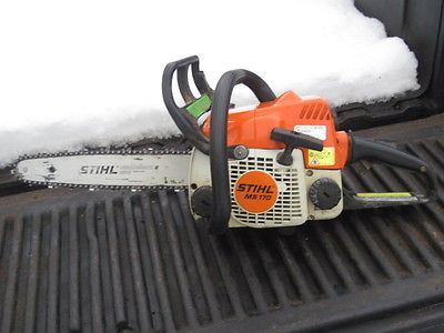 STIHL MS170    Compact Lightweight Chainsaw... 160 psi compression...