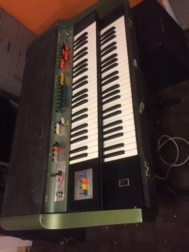 Farfisa Vip400 Combo Organ Vox