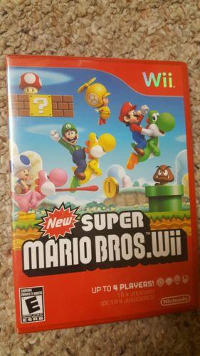 Super mario bros. sealed new wii Nintendo