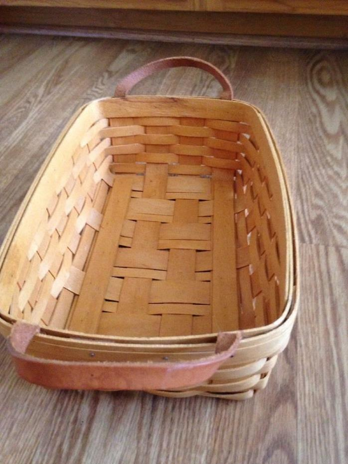 Longaberger 1985 basket for sale classifieds Longaberger baskets for sale