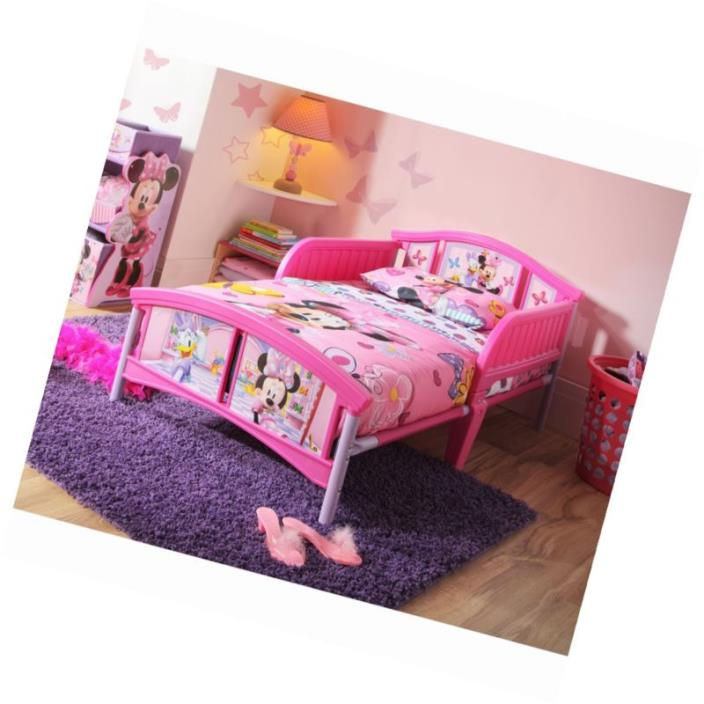 Plastic White Toddler Bed With Mattress