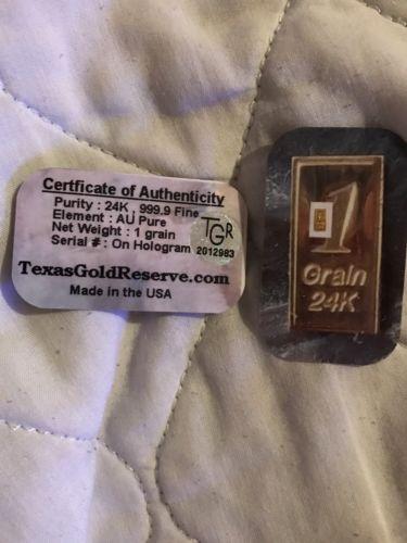 gold bars bullion Grains Gram