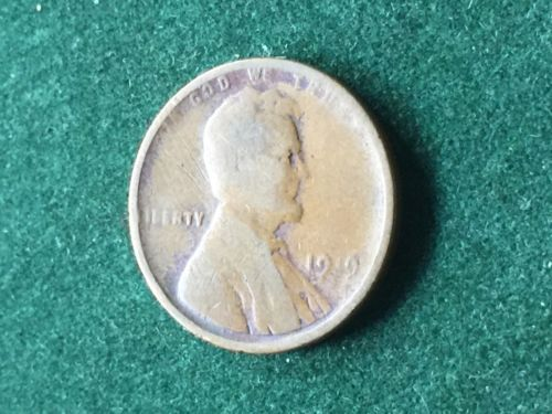 1919 US Wheat Penny