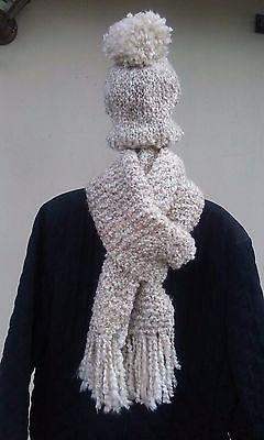 Handmade Hat and Scarf Set