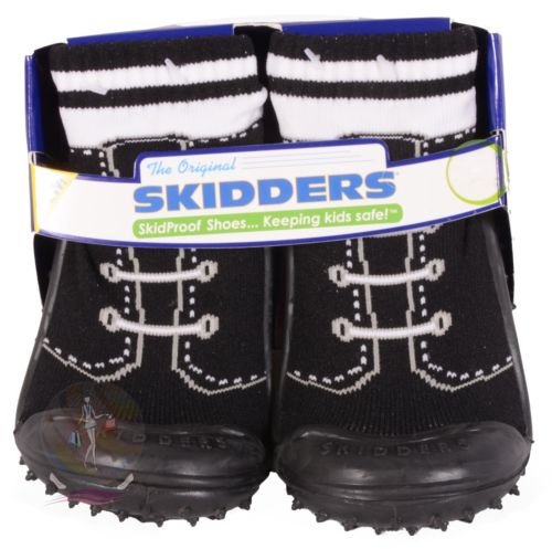 Skidders Baby Toddler Boys Shoes Size 4 - 12 Months Style XY3104 NWT