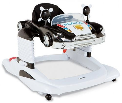 Combi All-In-One Mobile Entertainer - Black Police Car Walker New Baby Toddler