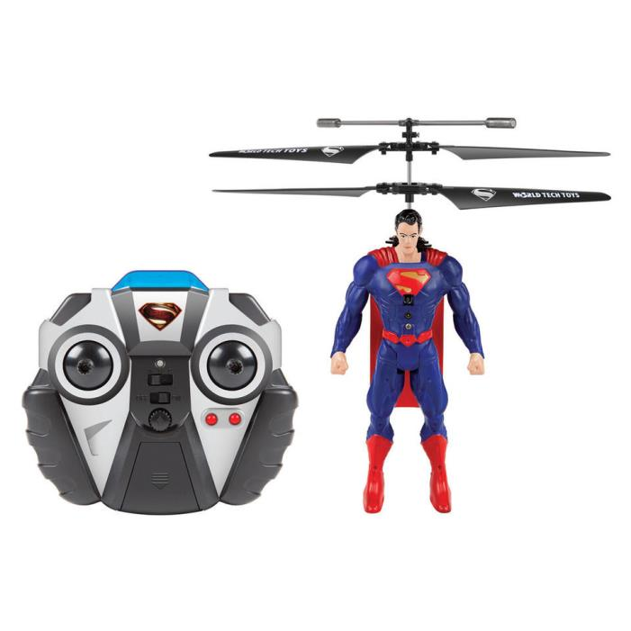 Superman DC Comics Licensed IR RC Helicopter Remote Control Battle Gyro Drone WB
