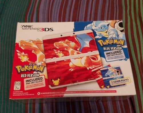Mew nintendo 3DS pokemon Red & Blue