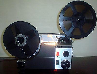 Sankyo Dualux 2000H STD 8mm / Super 8 MOVIE PROJECTOR ADJUSTABLE SPEED