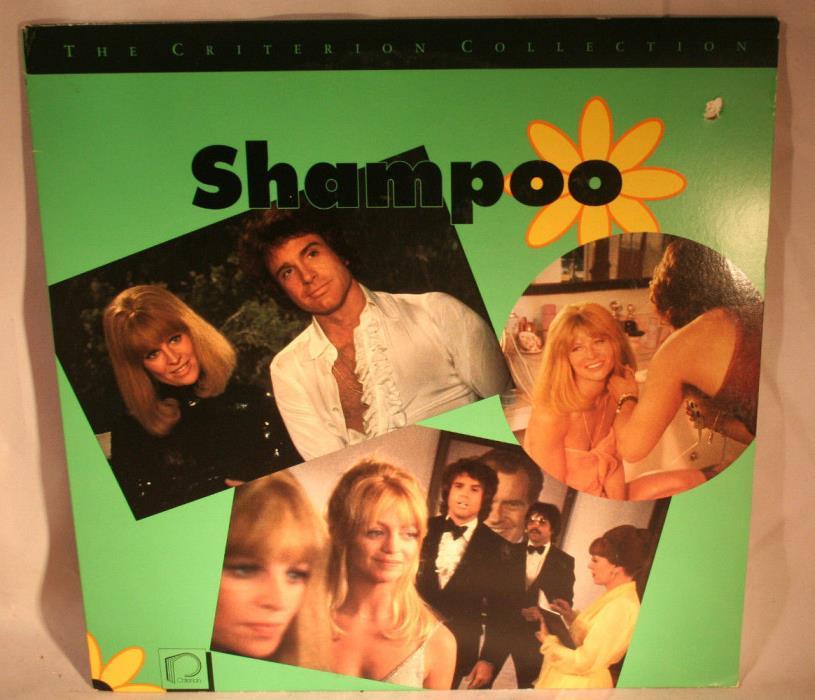 Laserdisc [e] * Shampoo * Julie Christie Goldie Hawn Warren Beatty Criterion