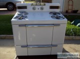 Antique working gas stove - Price: $