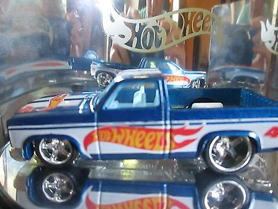 Hotwheels Die Cast  CUSTOM 83 Chevy Silverado LOOSE  SUPER AWESOME